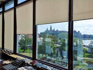 Rolety do dużych okien